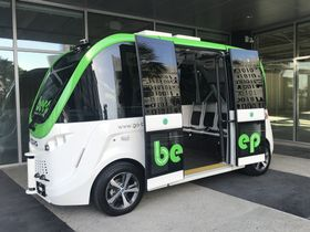 Ariz. City Pilots Autonomous Shuttle Program