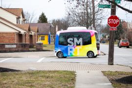 Columbus Pilots Self-Driving Shuttle