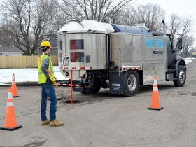 Vactor Launches Ramjet Truck-Mounted Water Jetter