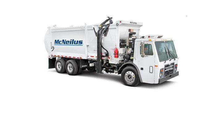 McNeilius, an Oshkosh Brand, makes refuse vehicles and concrete mixers. - Photo courtesy of McNeilus