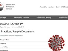 Nonprofit Creates COVID-19 Resource Page for Local Governments