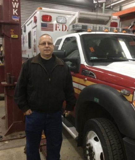 James Villecco - Photo courtesy of NYC DCAS