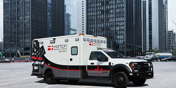 REV Group brands, including Horton, offer High-Risk Infection Control (HRIC) models.