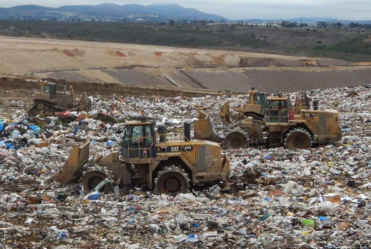 San Diego Fuels Landfill Equipment with Renewable Diesel
