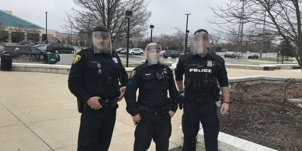 Ford also sent face shields to Dearborn Police in Michigan.