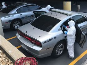 Local Businesses Donate Vehicle Disinfecting Services