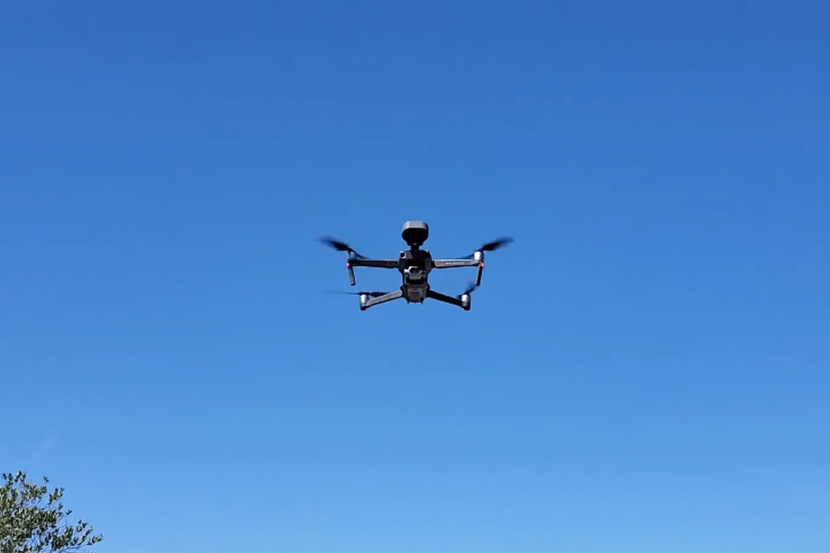 Police Drones Dispatched to Promote Social Distancing