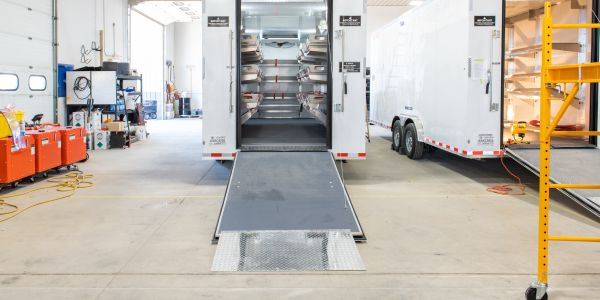 Acela Truck Company Builds Portable Morgue Trailer Units