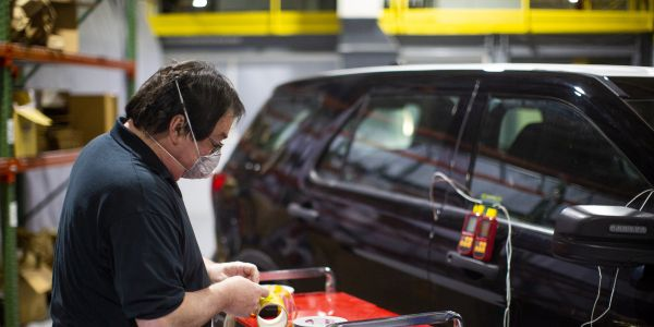 This heated process can be used by law enforcement regularly to help sanitize vehicles when...