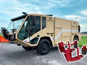 E-One Delivers Vehicles with Hendrickson Suspensions to the U.S. Air Force