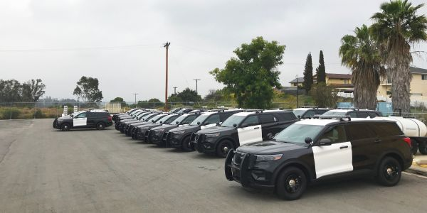 The City of San Diego has already taken delivery of 40 of its first 100 Ford PIU hybrids.