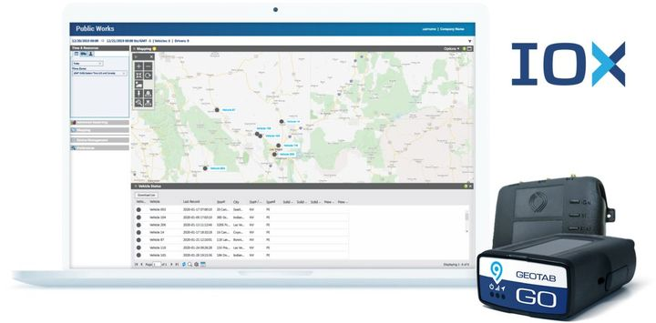 The Geotab Public Works solution allows governments, including municipalities of all sizes, to customize their database to help meet the specific needs of their fleet. - Photo: Geotab