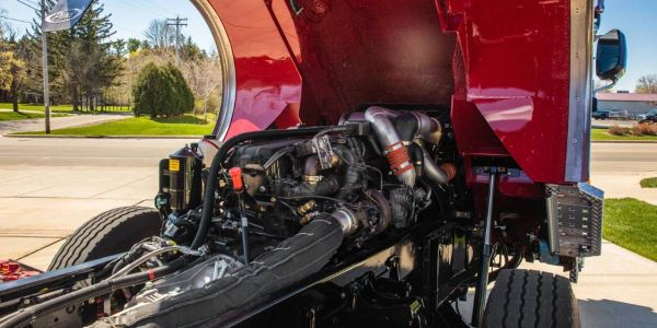This big block engine incorporates design features that improve fuel economy and are low...