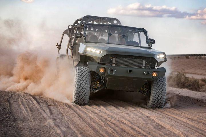 U.S. Army has awarded GM Defense LLCa $214.3M production contract to build, field, and sustain the Army's new Infantry Squad Vehicle (ISV). - Photo: GM