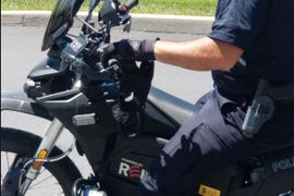 All-Electric Police Motorcycles Reduce City's Carbon Emissions