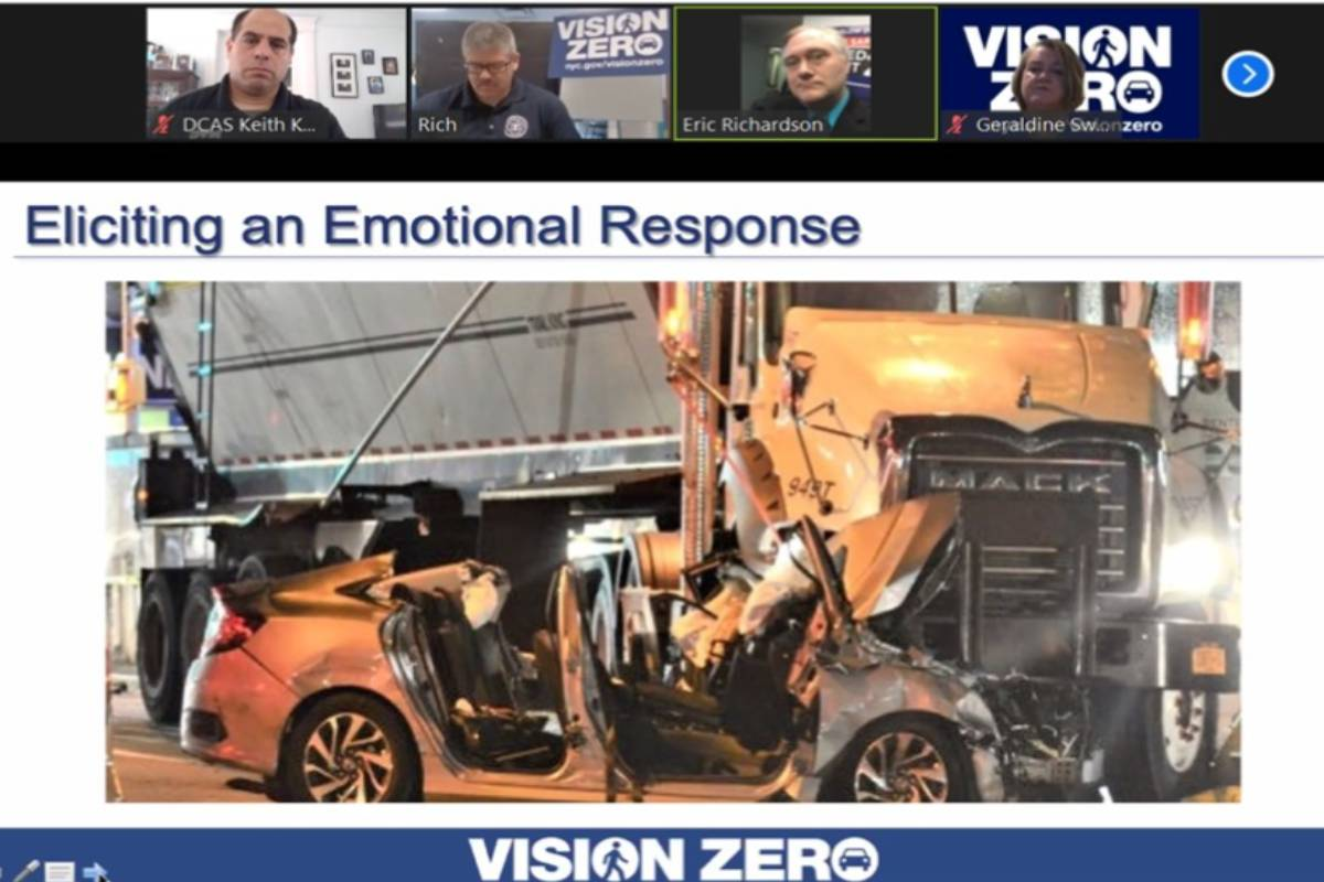 Vision Zero Agencies Host Fleet Safety Workshop