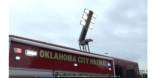 Oklahoma City Fire Department Unveils Haz-Mat Unit
