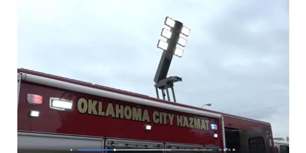 Oklahoma City Fire Department Unveils Haz-Mat Unit