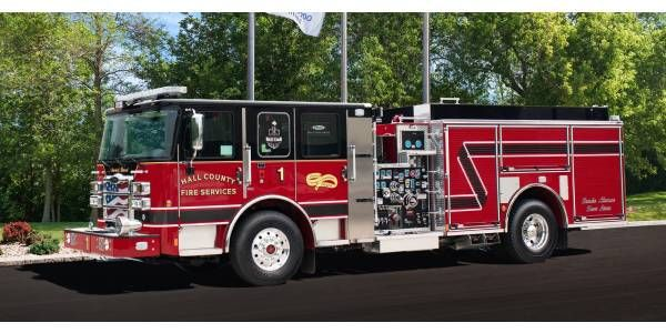 Ga. Municipality Fire Department Orders Nine Pierce Trucks