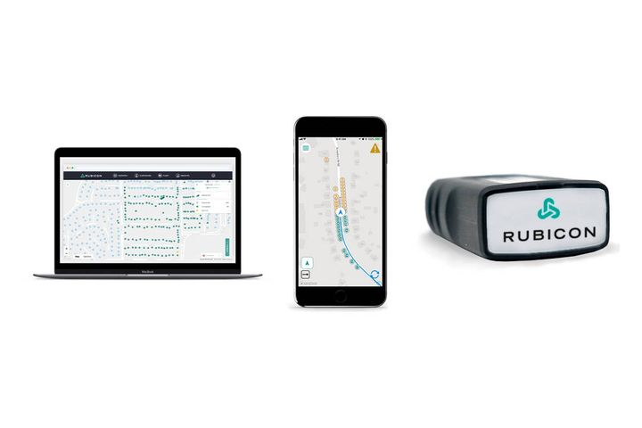 Designed to improve service and reduce costs, RUBICONSmartCity equips city partners with a full-service software system for managing municipal waste and recycling collection in residential and commercial settings. - Photo: Rubicon/Geotab