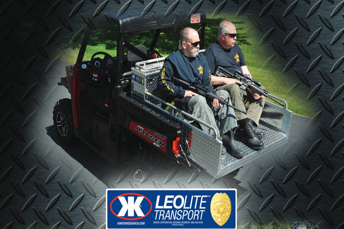 Modularity Defines KIMTEK's New Law Enforcement UTV Skid Unit