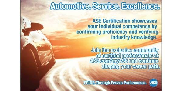 ASE Offers Enhanced myASE Portal