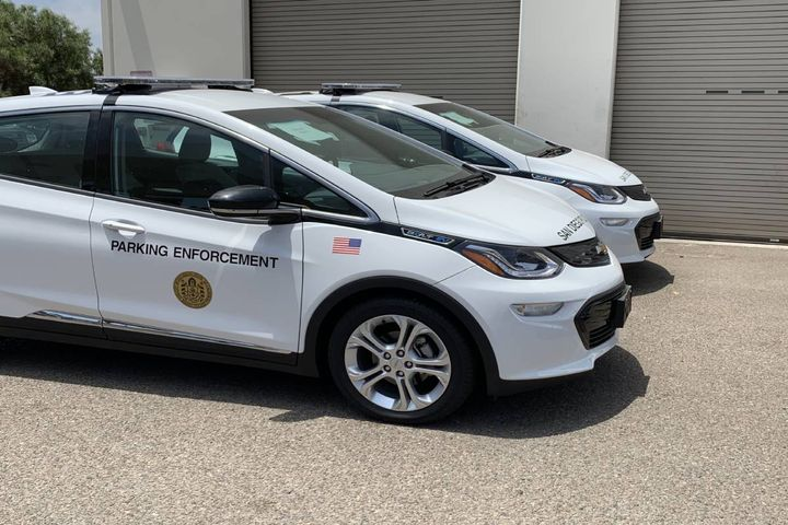 The City of San Diego purchased 19 Chevrolet Bolts in May of this year. - Photo: City of San Diego