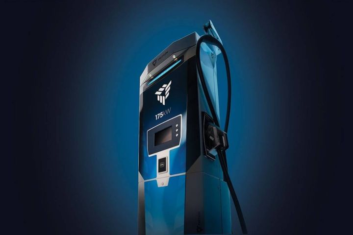 The Australia-based company's new fast charger brings powering EVs closer to the speed of a gas station visit. - Photo: Tritium