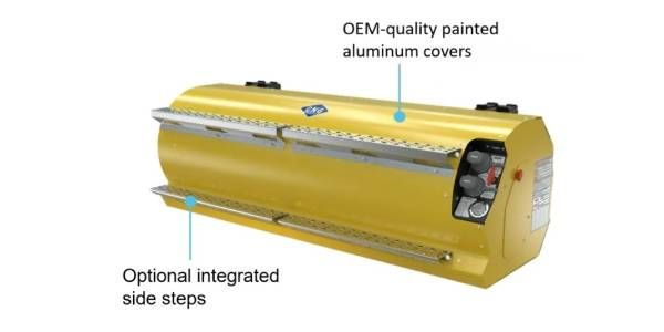Agility's Fifth-Generation Side-Mount CNG ProRail Fuel Systems