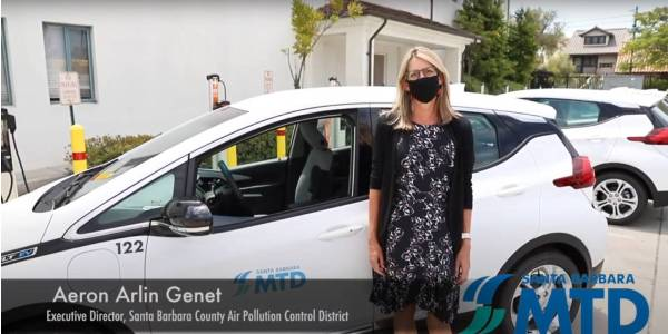 Santa Barbara MTD Transitions District Cars to Chevy Bolts