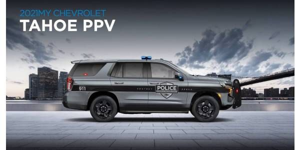 2021 Tahoe PP - Photo: GM Fleet Virtual Solutions Summit video screenshot