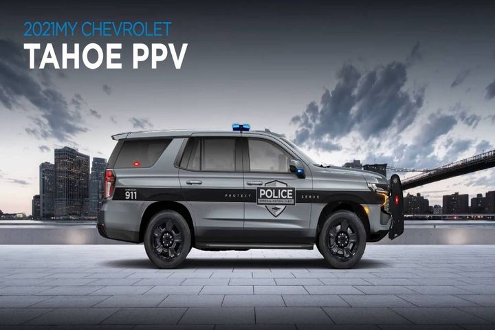 2021 Tahoe PPV - Photo: GM Fleet Virtual Solutions Summit video screenshot