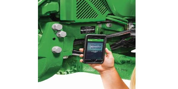 John Deere Smart Connector Links Tractors and Smartphones