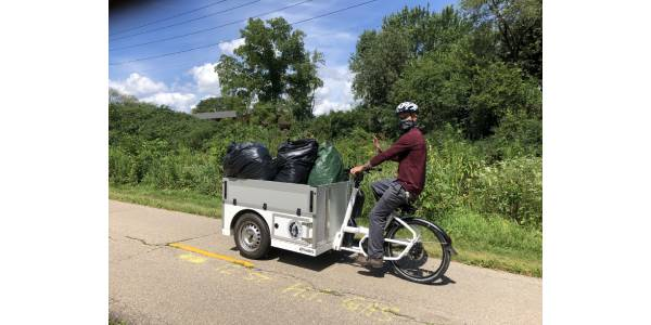 Wisc. Municipality Continues Pilot of Pedal-Assist Cargo Bikes