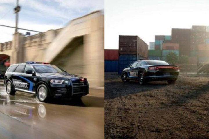 (L to R) 2021 Dodge Durango Pursuit and 2021 Dodge Charger Pursuit - Photo: Dodge