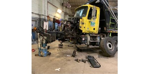 NYC DOT Opens New Brooklyn Truck Repair Facility