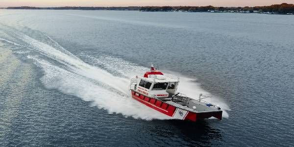 Lake Assault Boats Delivers Craft to N.C. Fire Department