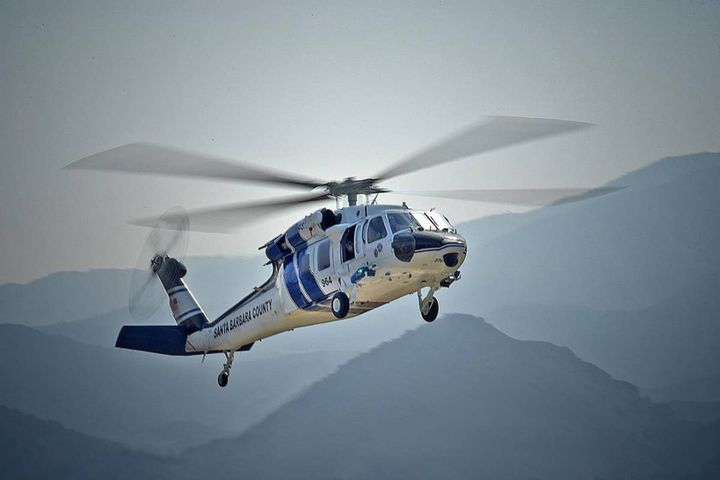 - Photo:Santa Barbara County Sheriff-Fire Air Support Unit