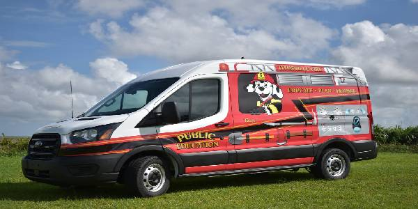 Fla. Municipality Fire Dept. Ford Transit Delivers Education