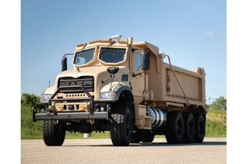 Jankel Provides Seating Solutions For Mack Defense Dump Trucks