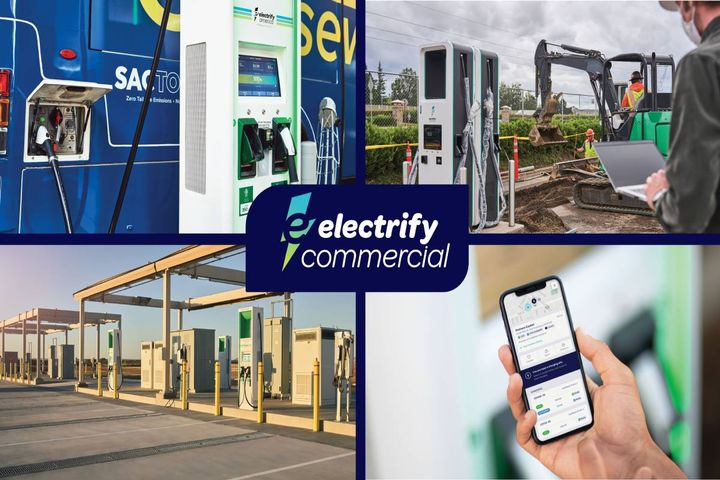 Electrify Commercial provides end-to-end charging solutions to help business customers achieve electrification goals and prepare for the future of mobility. - Photo: Electrify America