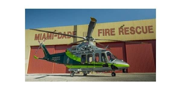 Miami-Dade Fire Rescue Welcomes Helicopter to Aviation Fleet