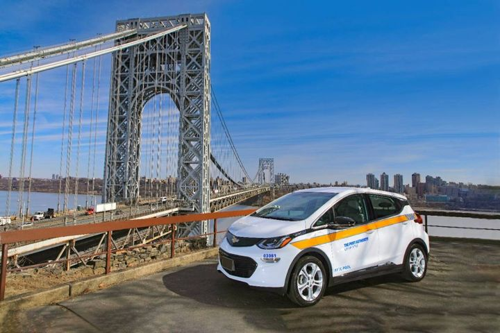 A light-duty vehicle is ready for use near the GWB. - Source:Port Authority of New York & New Jersey