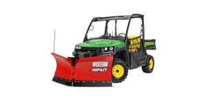 John Deere to Sell, Service WESTERN Snow and Ice Removal Products for Utility Vehicles