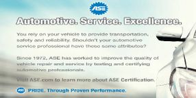 ASE Part of Ford Training Equivalencies