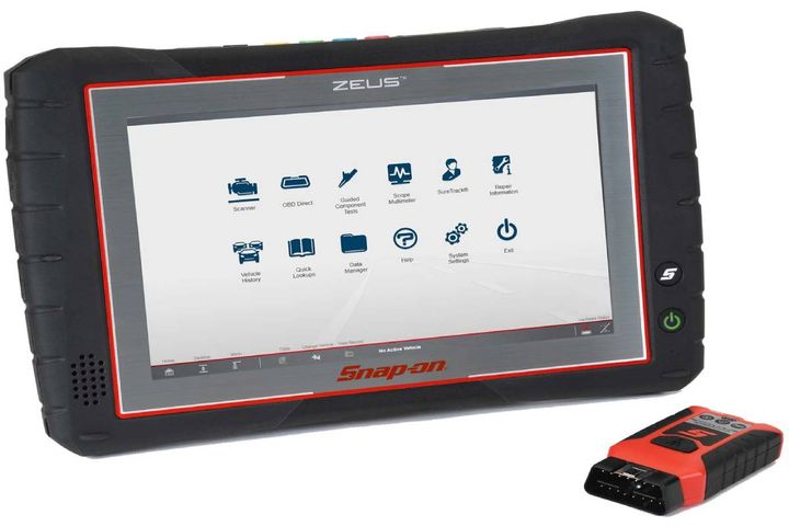 The company is offering free online support for ZEUS, TRITON-D8, and APOLLO-D. - Photo: Snap-on