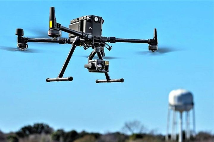 """The department's new """"sky force"""" will initially consist of four drones equipped with different state-of-the-art technologies. - Photo:Brookhaven Police Department"""