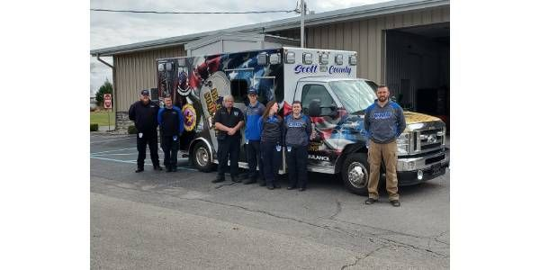 Ind. County Dedicates New Ambulance to Veterans