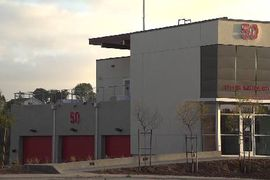 San Diego Mayor Opens 10th Fire Station Since 2015