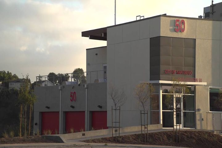 The ribbon-cutting ceremony highlights recent public safety investments including new fire apparatus to keep San Diegans safe during peak fire season. - Photo: City of San Diego B-Roll Screenshot
